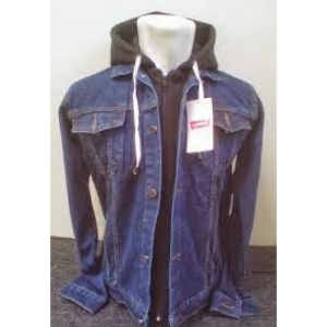 hoodie sleting dobel bio wash levi's Grosir Jaket Jeans Murah Bandung